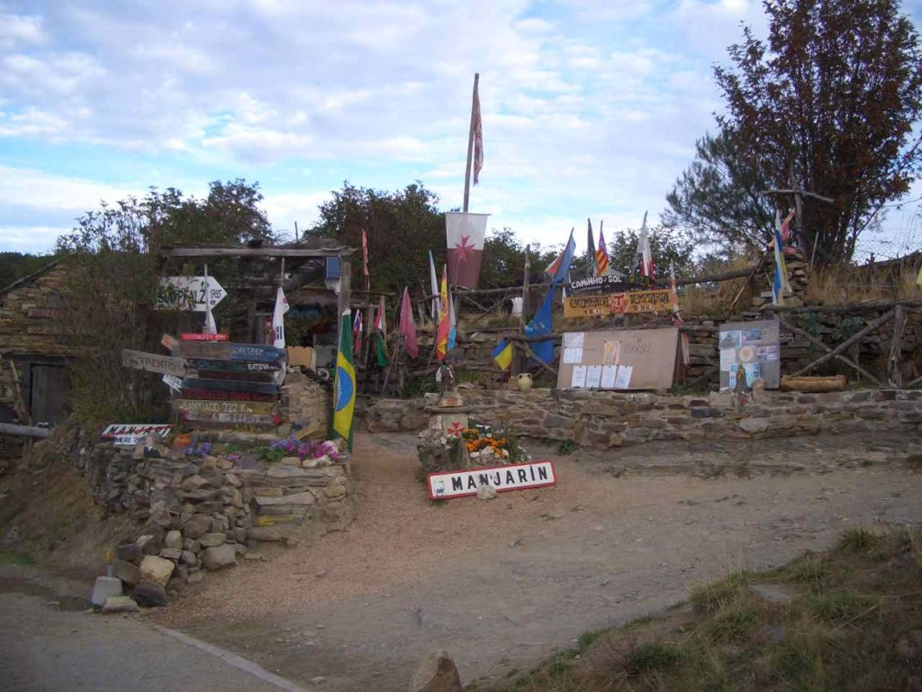 Spanien, Jakobsweg, Hippiestation in Manjarín