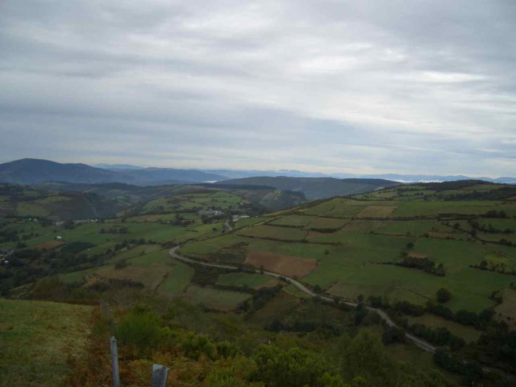 Jakobsweg, Auf dem Pass, unterwegs von O Cebreiro nach Triacastela