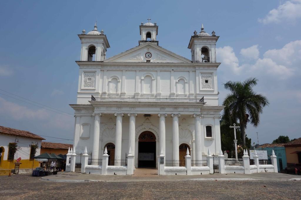 Honduras, Kirche in Copán Ruinas