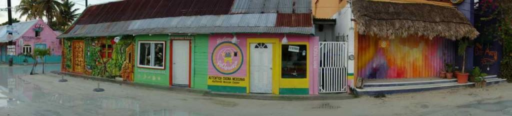 Zentralamerika, Mexiko, Isla Holbox, Hauptstraße