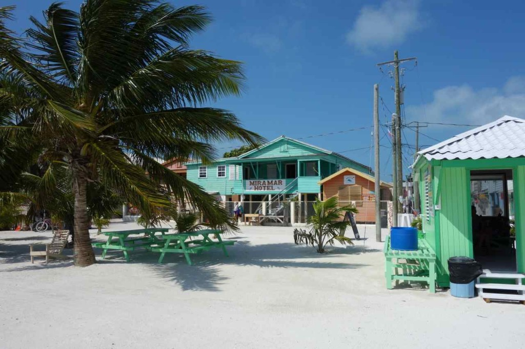 Zentralamerika, Belize, Caye Caulker, Hotel Miramar