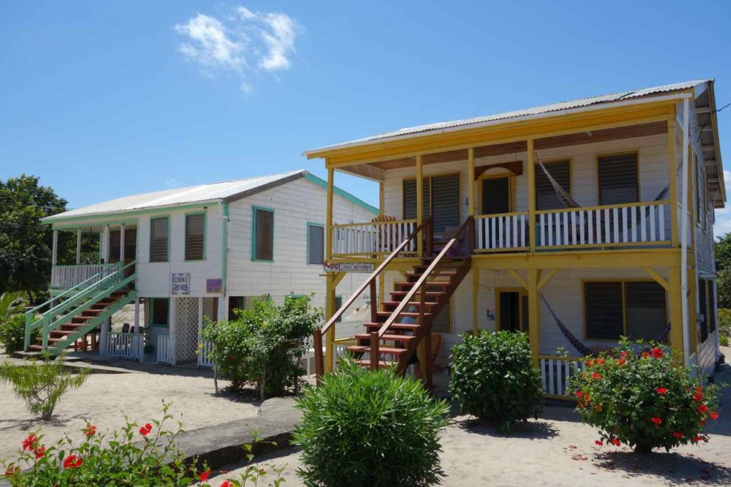 Zentralamerika, Belize, Unterkunft Lydia´s in Placencia
