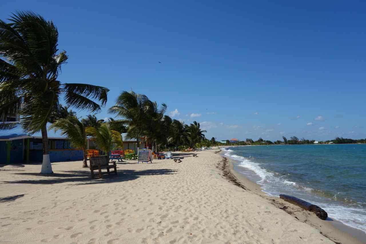 Zentralamerika, Belize, Strand von Placencia