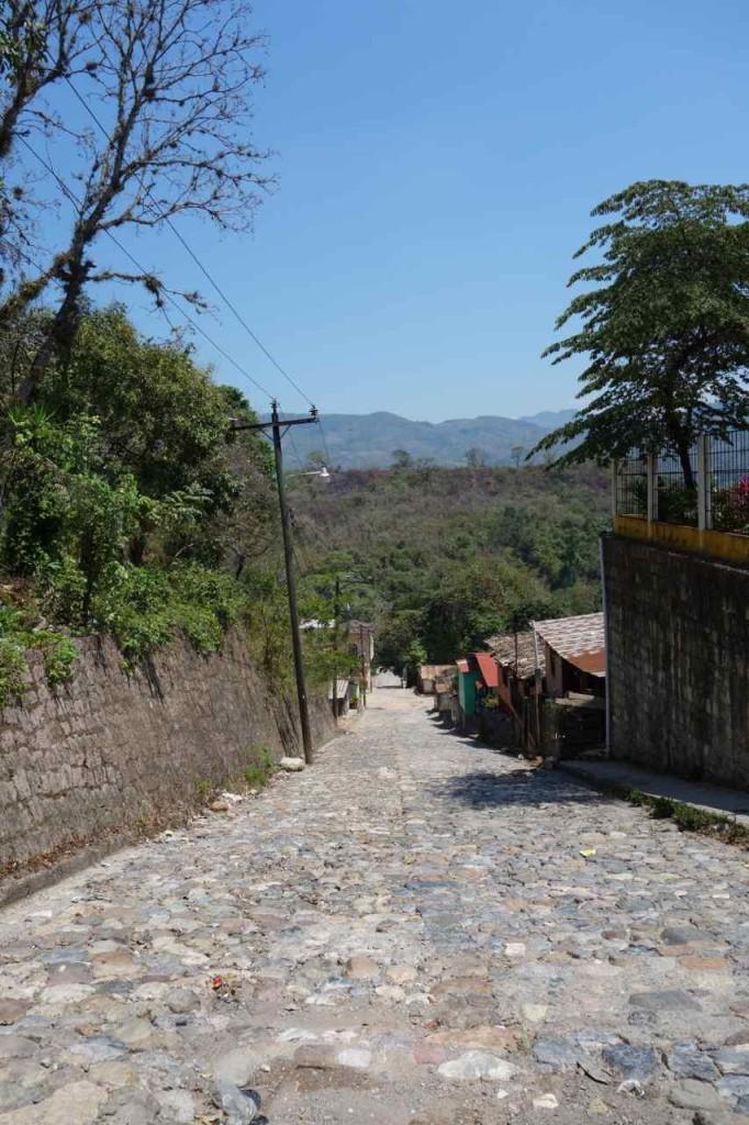 Zentralamerika, Honduras, In den Straßen von Copán Ruinas