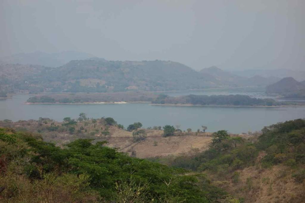 Zentralamerika, El Salvador, Suchitoto, Lago Suchitlan