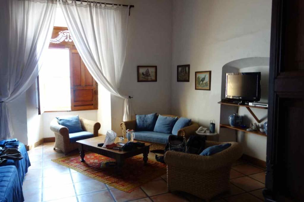 Zentralamerika, El Salvador, Suchitoto, Hotel Los Almendros de San Lorenzo / Suite