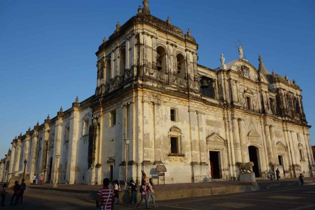 Zentralamerika, Nicaragua, Kathedrale in León