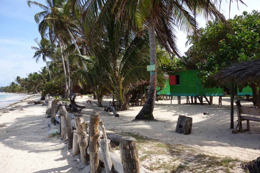 Nicaragua Corn Islands, Zentralamerika, Little Corn Island, meine Hütte bei Stedman