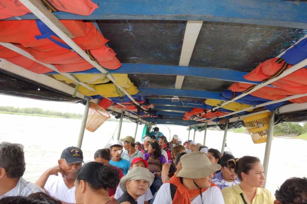 Nicaragua, Unterwegs im Panga