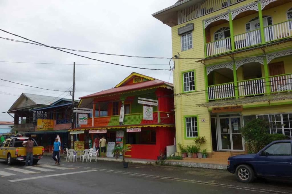 Panama, Bocas del Toro, Colón, Hauptstraße