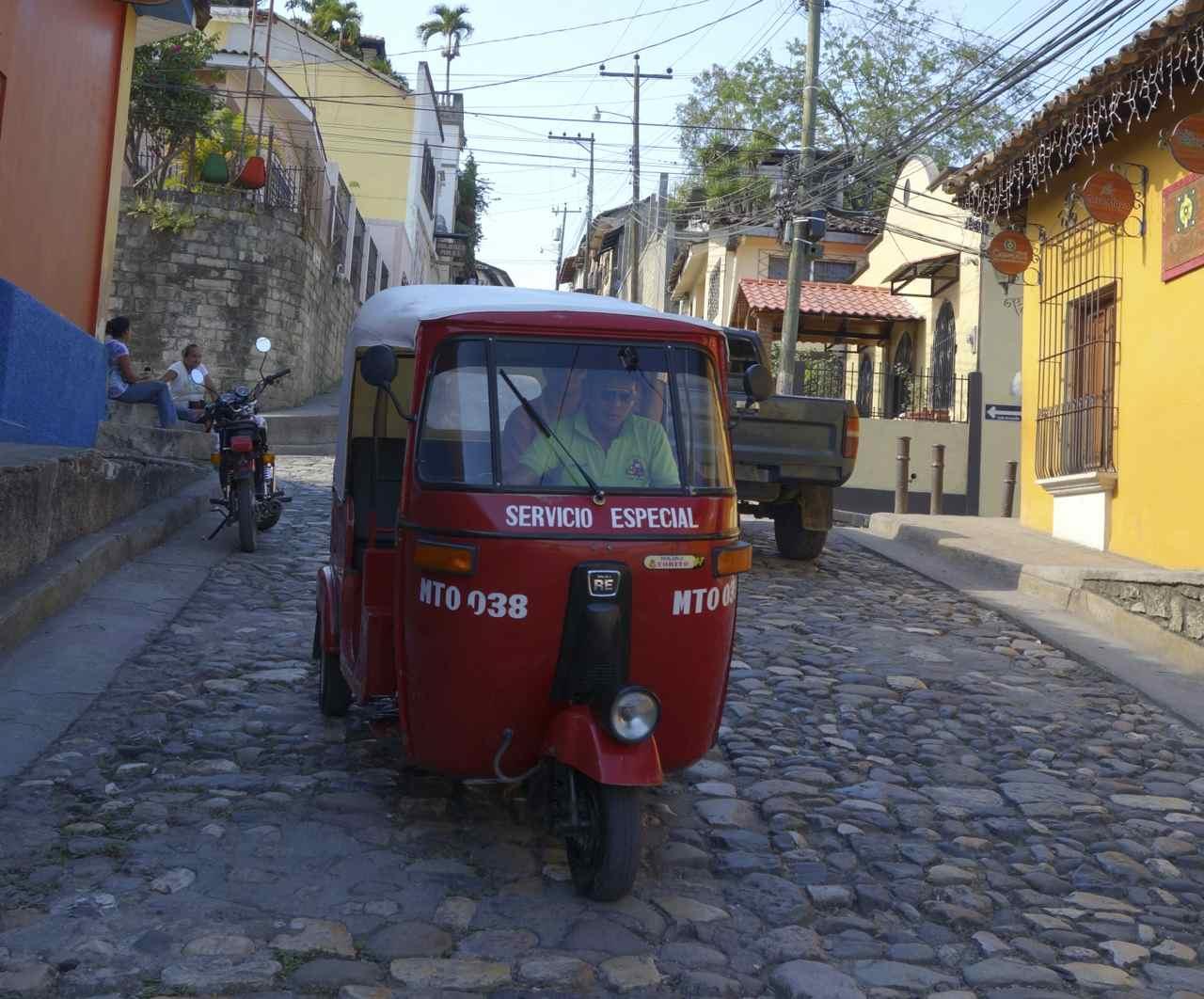 Zentralamerika, Belize, In den Straßen von Copán Ruinas