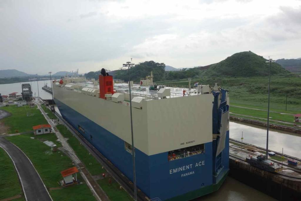 Zentralamerika, Panama, Panama Kanal, Mirafloresschleuse