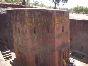 Äthiopien, Felsenkirche in Lalibela