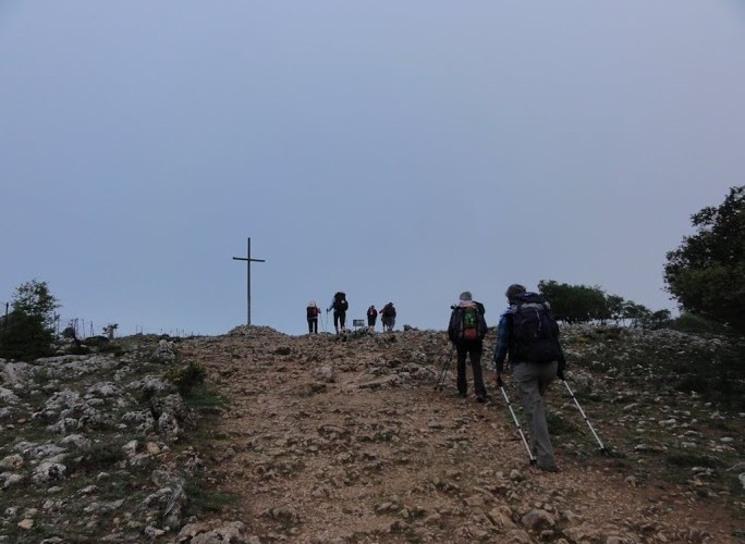 Im Morgengrauen: Bitterkalt auf Anhöhe hinter Atapuerca