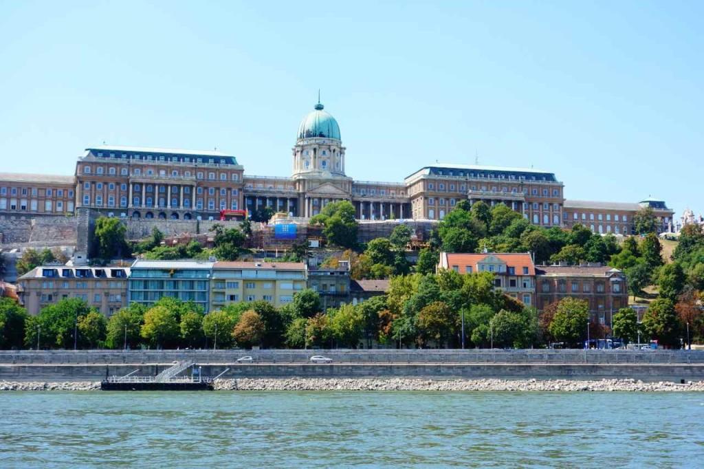 Ungarn, Budapest Tipps, Blick auf den Schlossberg