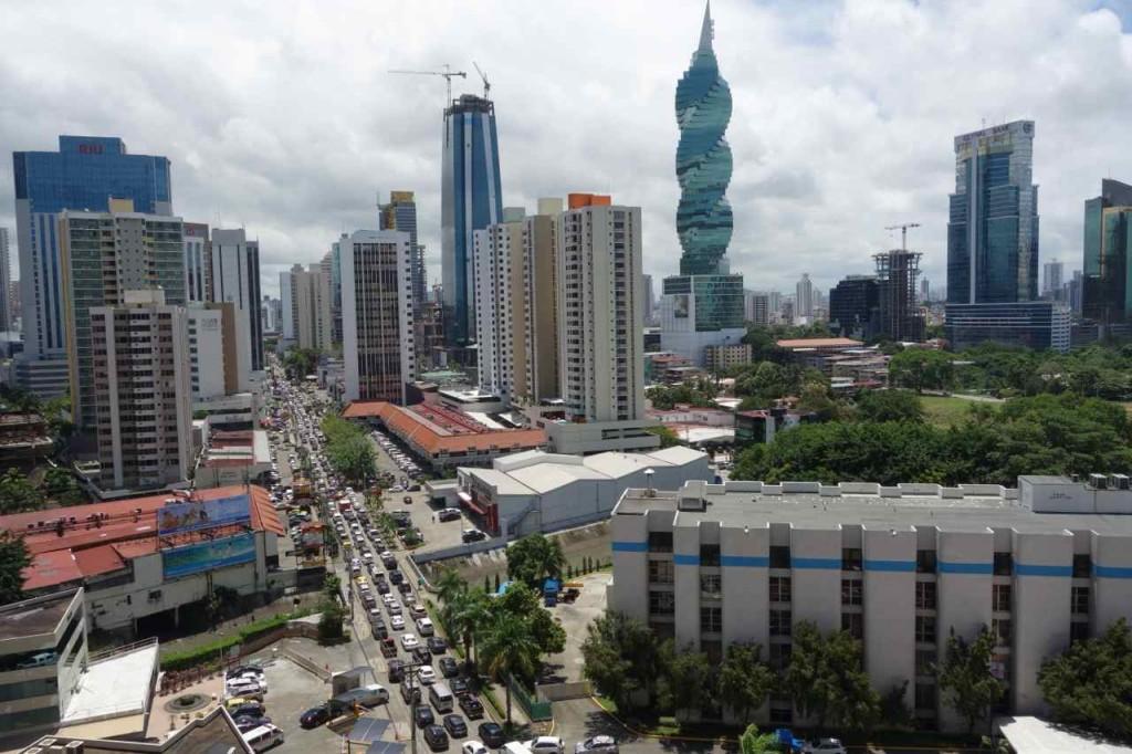 Zentralamerika, Panama, Skyline von Panama City