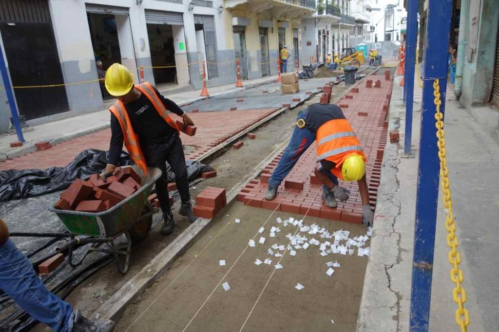 Panama City, Altstadt, überall wird restauriert