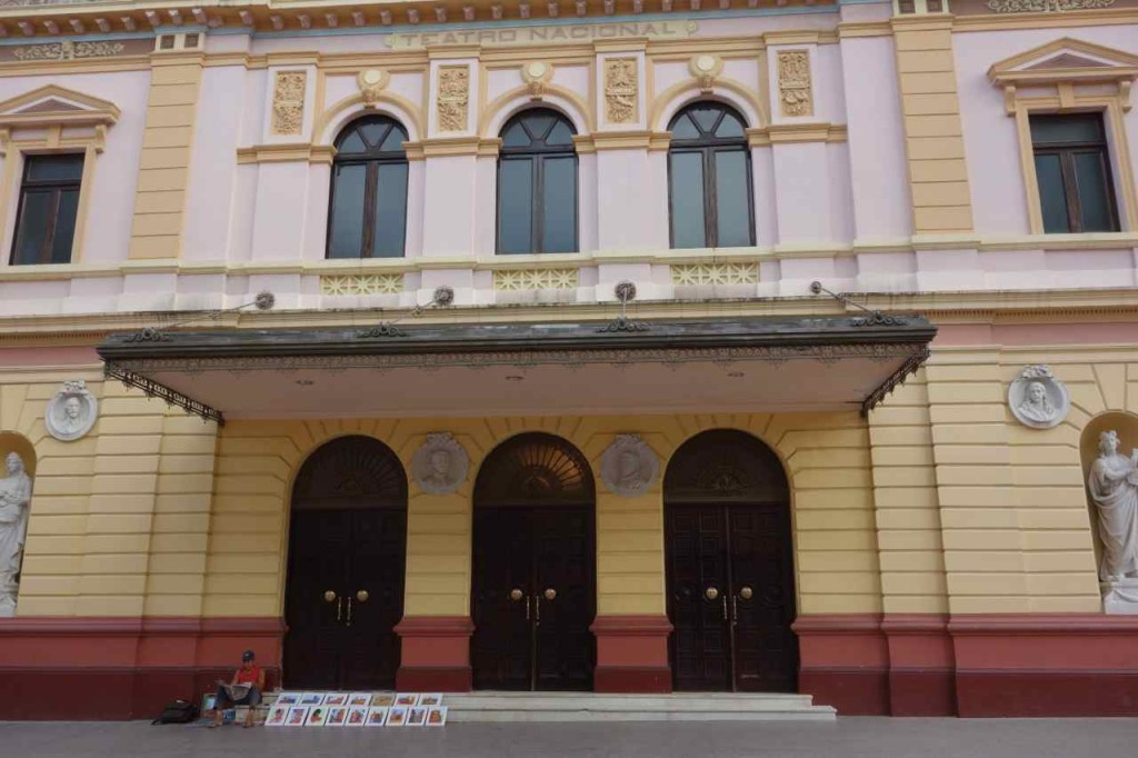 Panama City, Altstadt, restauriertes Theater