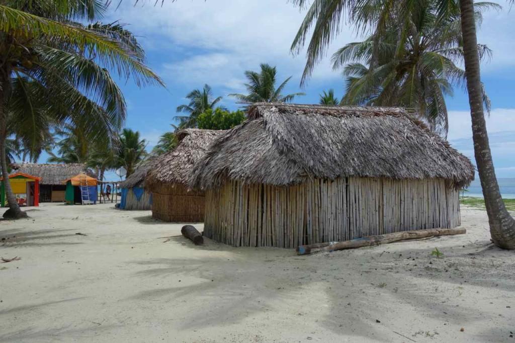 Panama, San Blas, Isla Chichime, meine Unterkunft