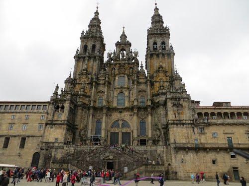 Jakobsweg, Santiago de Compostela, Kathedrale, Foto Mig75