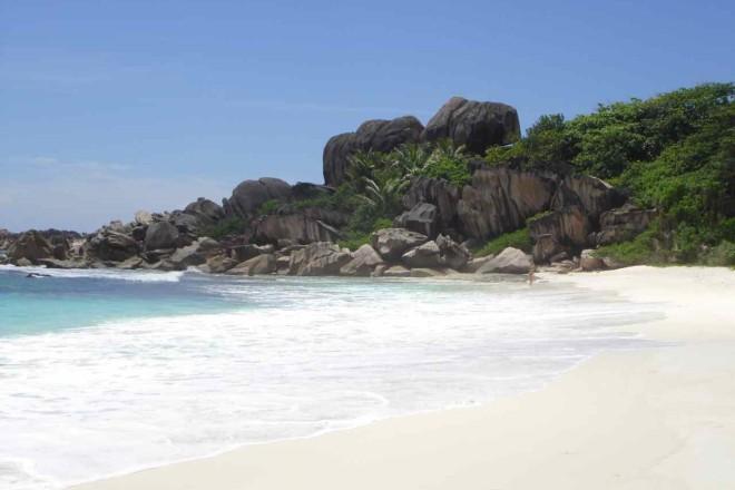 Seychellen, Strand von La Digue