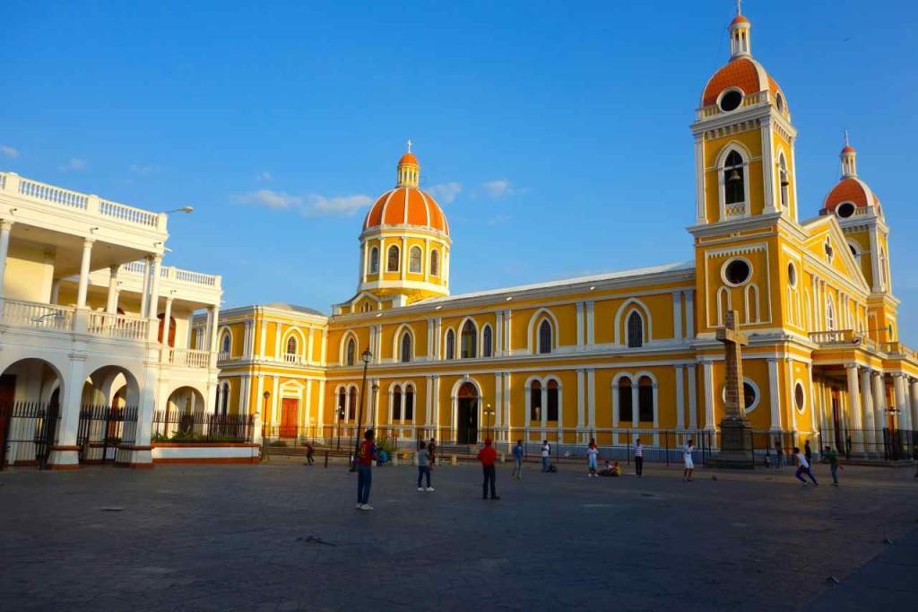 Zentralamerika Nicaragua, Kathedrale von Granada