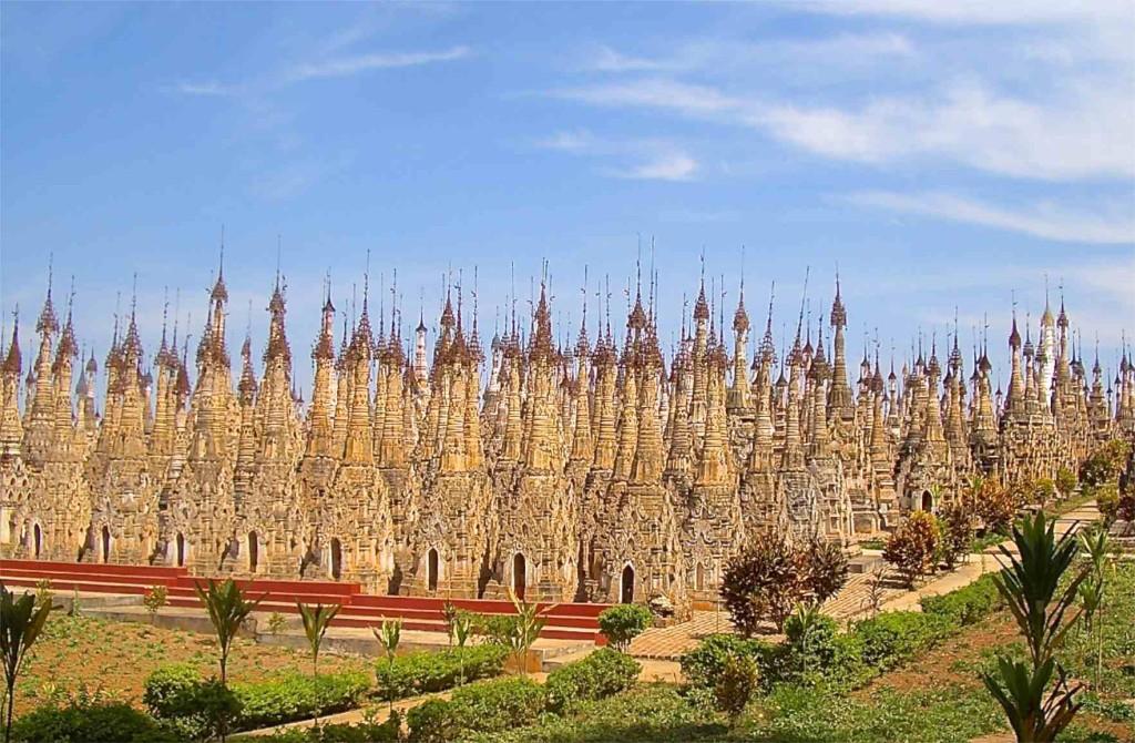 Myanmar, Kakku, …rund 2.500 Stupas auf engstem Raum, Tagesausflug von Lake Inle