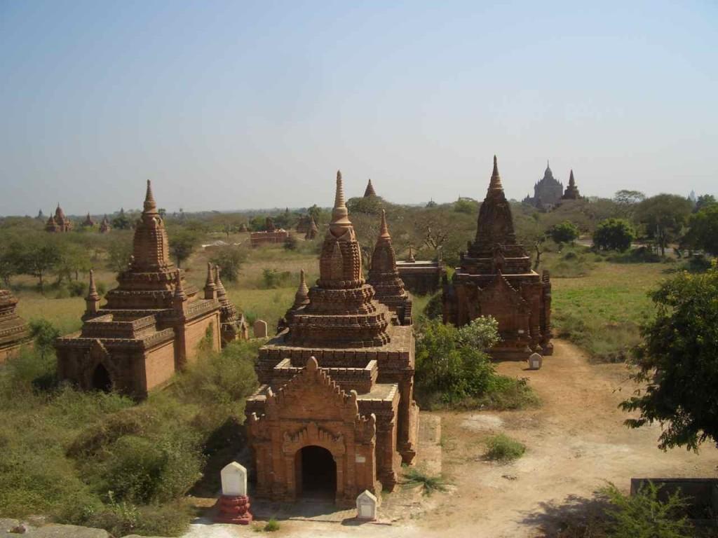 Myanmar, Bagan, Tempel