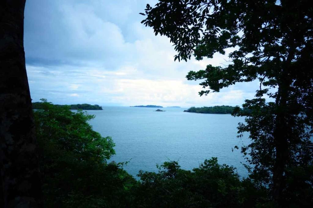 Panama, Blick von Isla Boca Brava