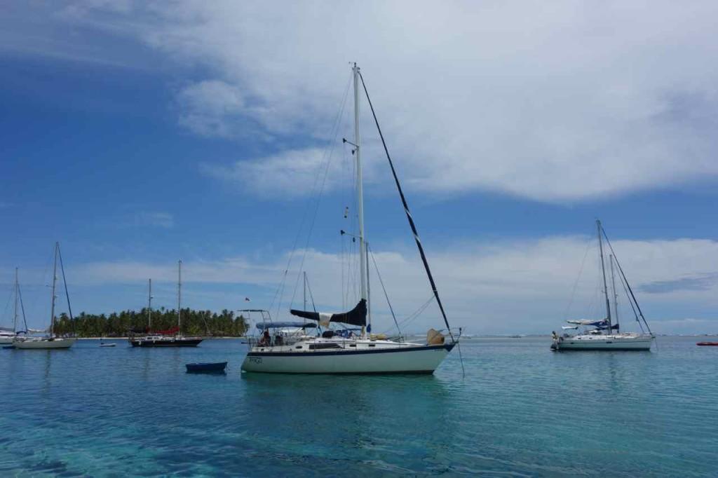 Panama, San Blas Inseln, vor Cayo Chichime