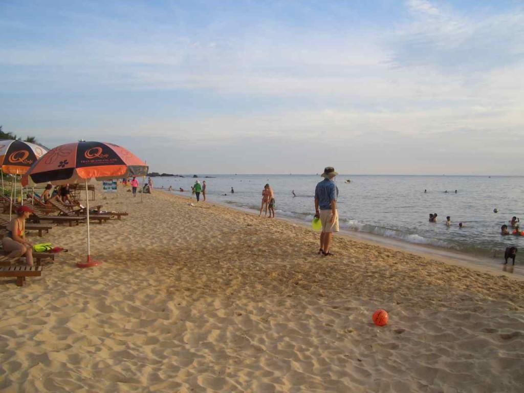 Vietnam, Phu Quoc, Unterkunft Phuong Binh am Strand