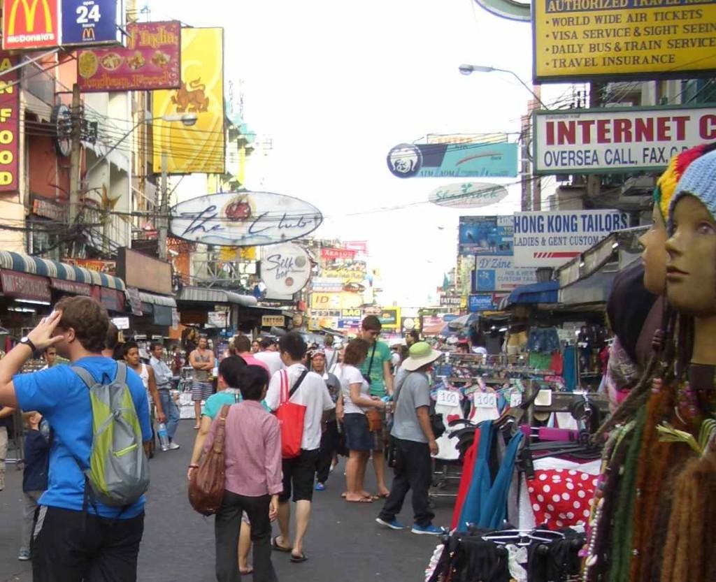 Thailand, Bangkok, Khao San Rd