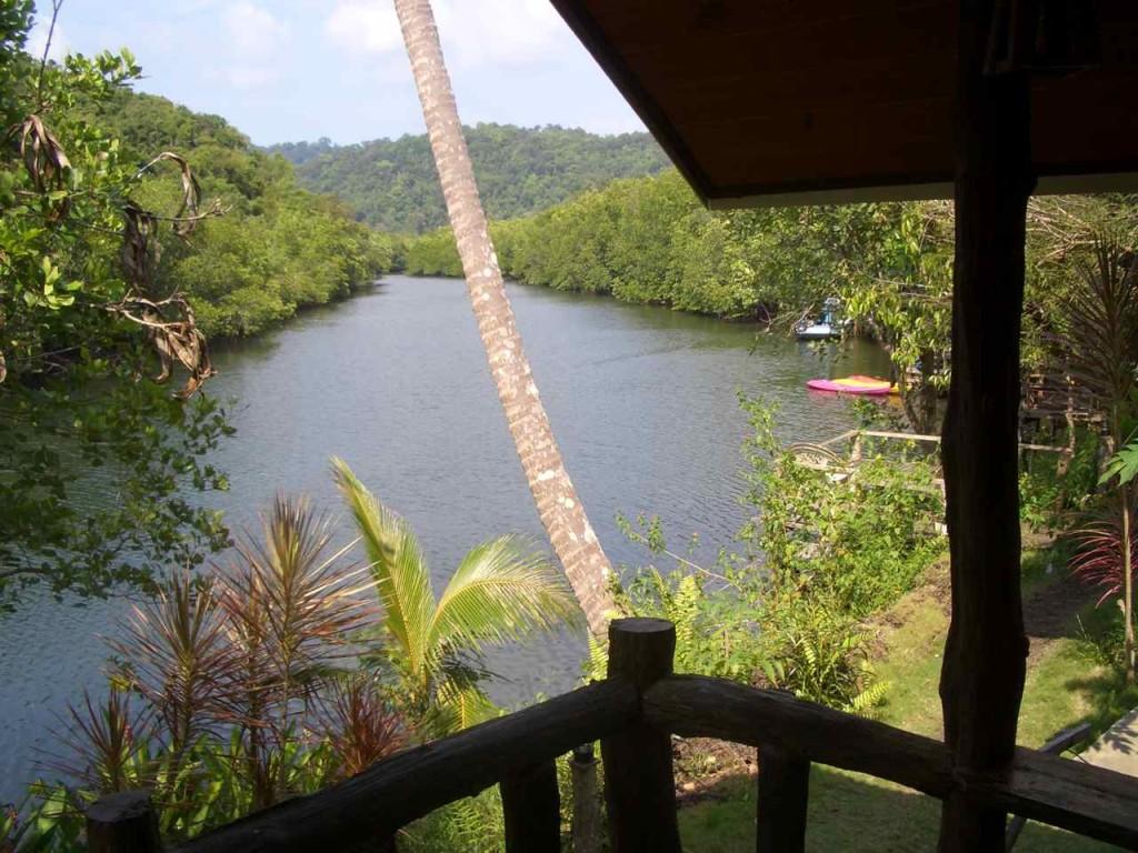 Thailand, Koh Kood, Klong Chao, Mangrove Bungalows