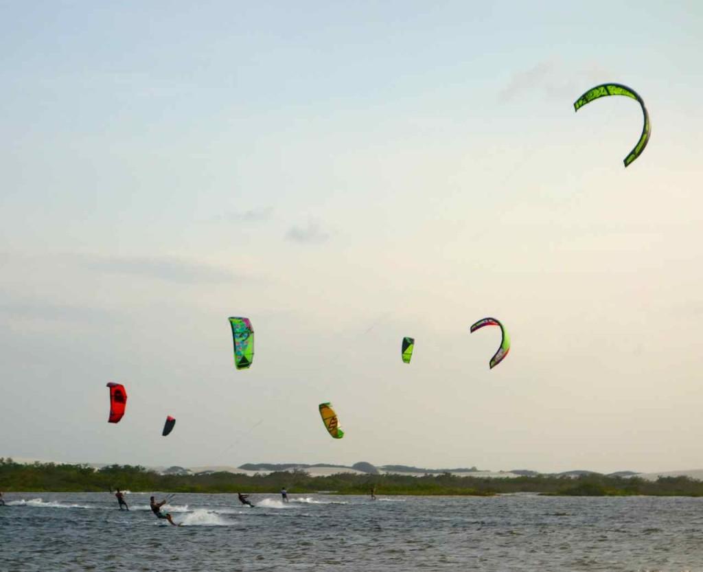 Jericoacoara Kitesurfen, Windsurfen und relaxen am Strand