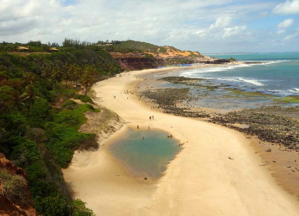 Brasilien, Praia do Amor bei Praia da Pipa
