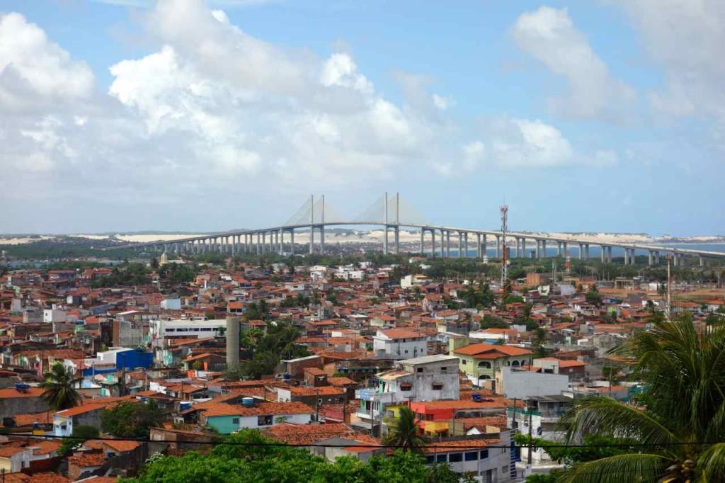 Brasilien, Natal mit Hängebrücke