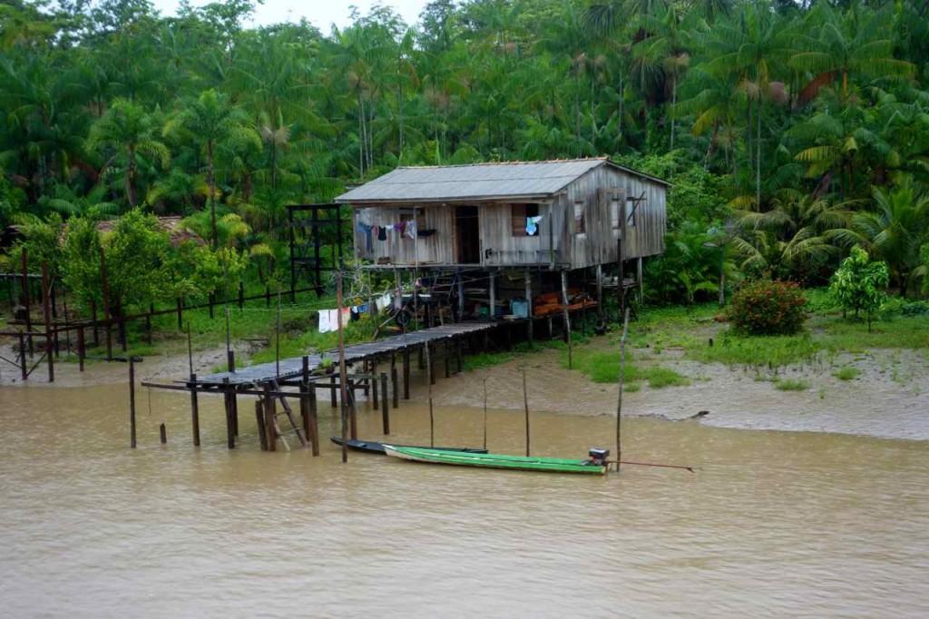 Amazonas- Hütte