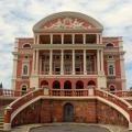 Brasilien, Manaus Opernhaus von vorne