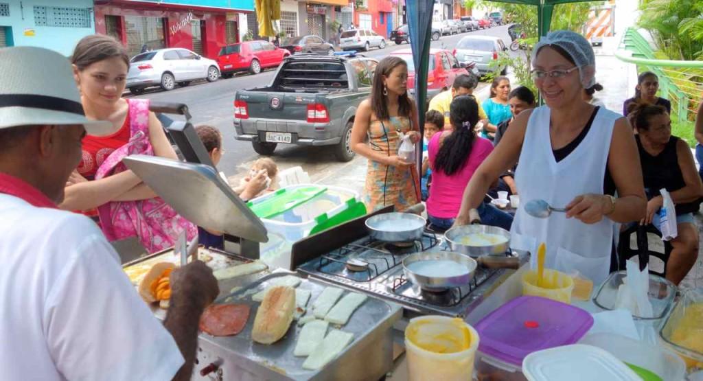 """Manaus: Mein """"Frühstückscafe"""""""