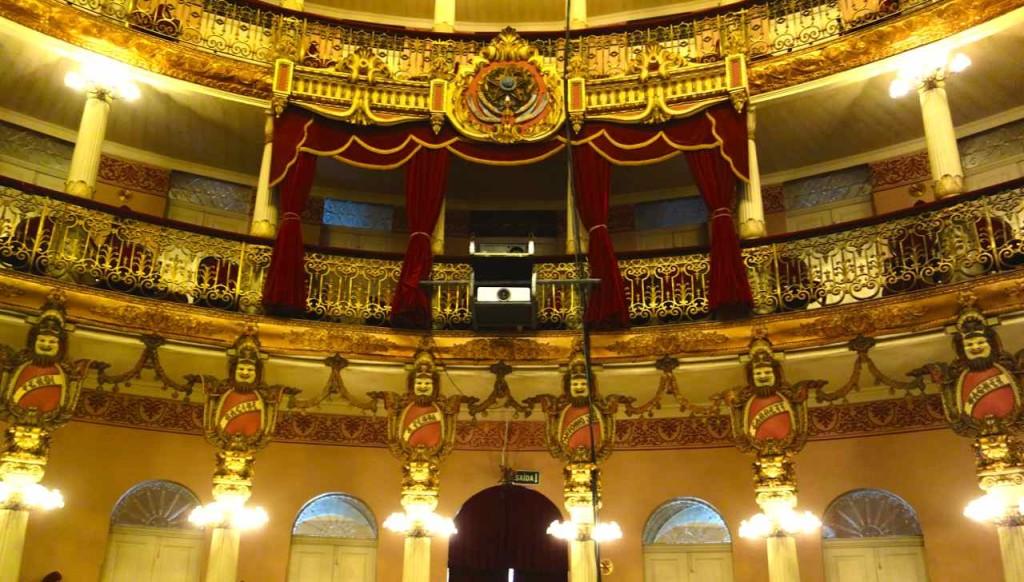 Manaus, Oper, Innen