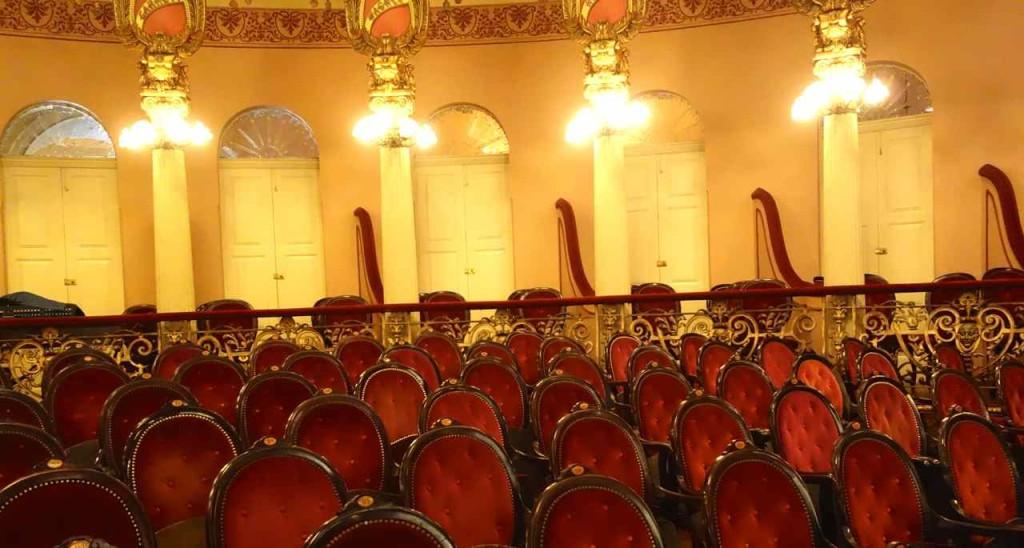 Manaus, Oper, Parkett mit Logen