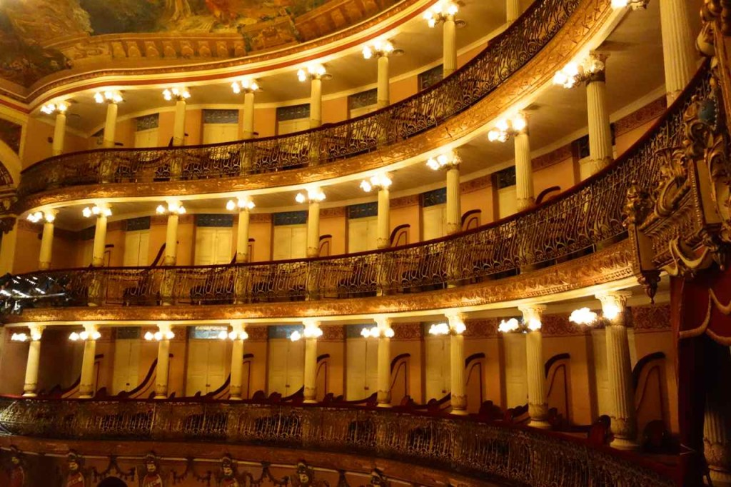 Opernhaus Manaus, Ränge