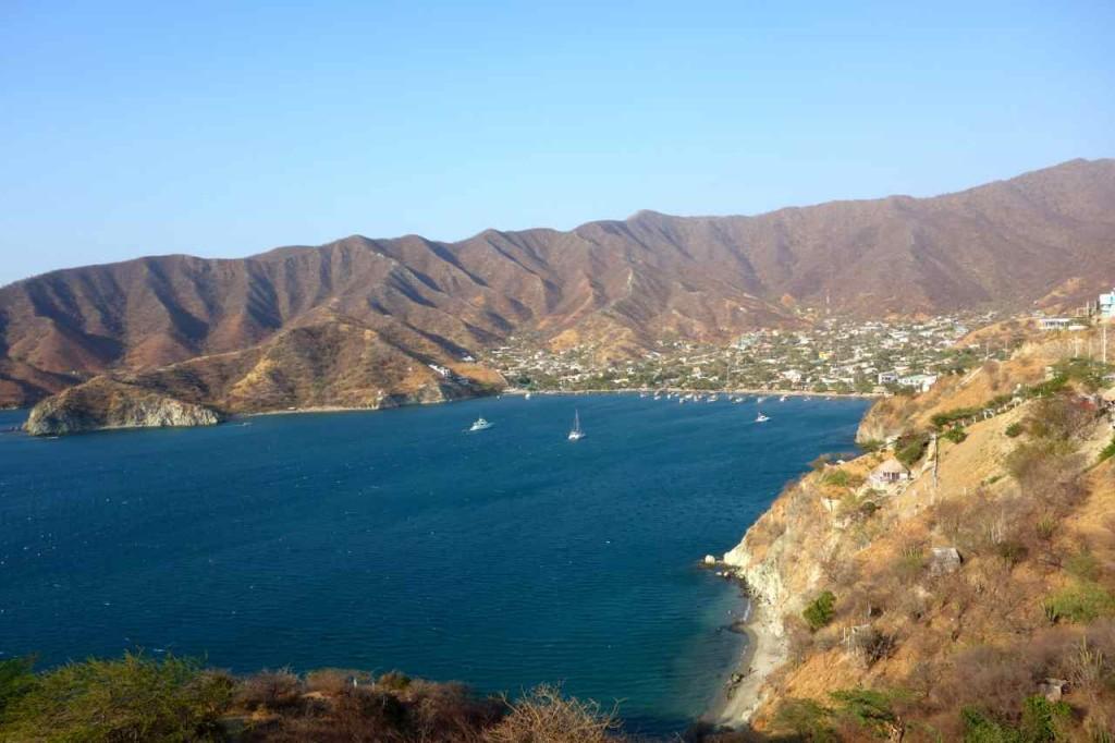 Taganga, von Santa Marta kommend