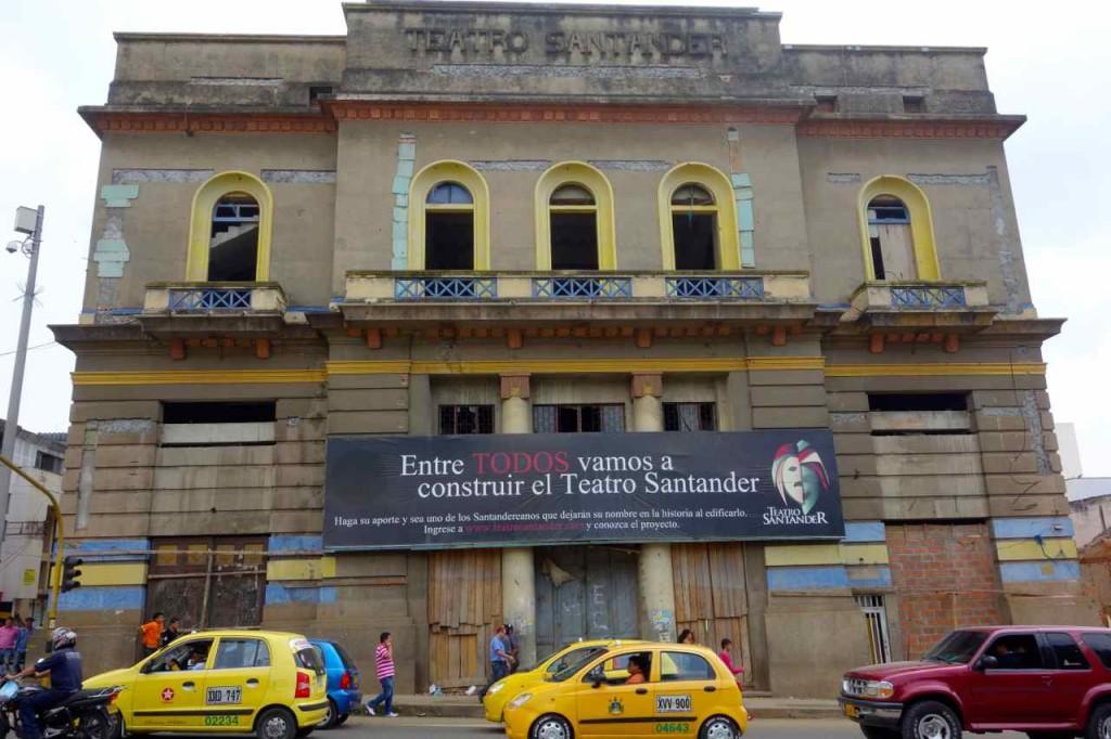 Bucaramanga: Theater im Wiederaufbau