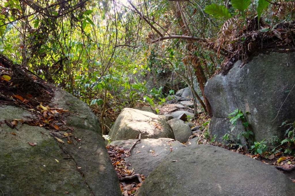 Parque Tayrona, Weg nach Pueblito