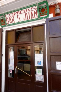 Ibiza, Bar Comidas San Juan