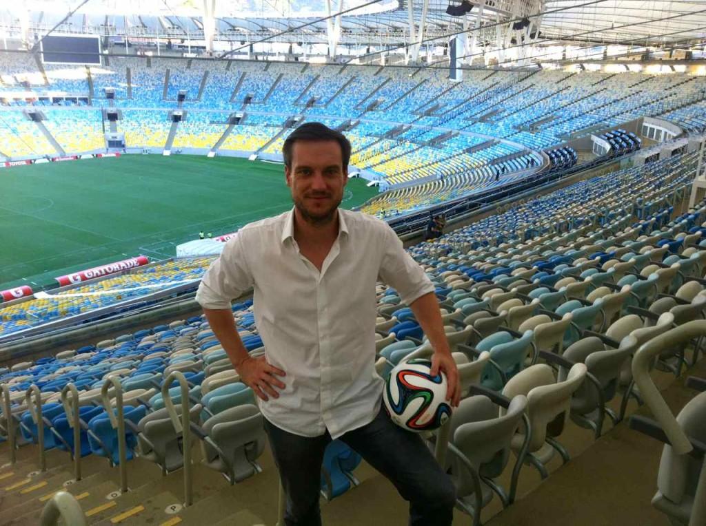 Rio, Maracana Stadion, Andreas Wunn