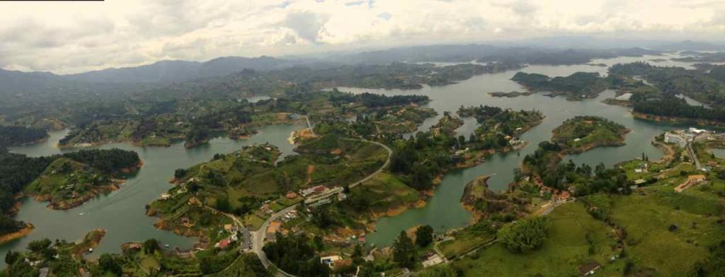 Panorama von Guatapé
