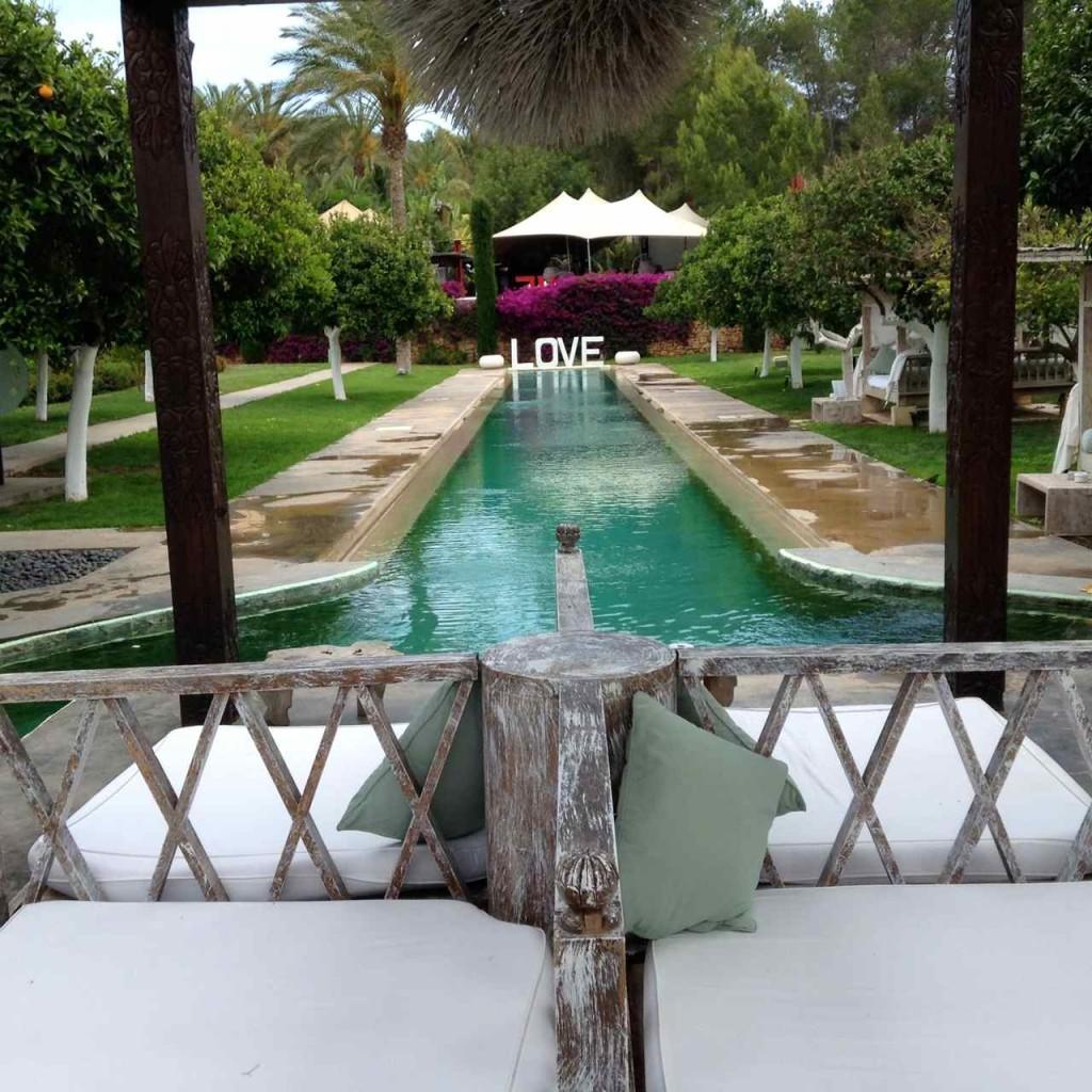 Ibiza, Hotel Atzaro, Pool