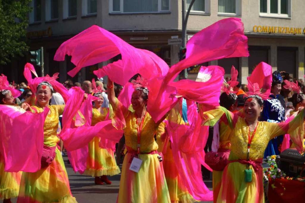Karneval der Kulturen, 2014, Umzug, chinesische Groppe